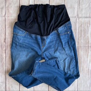Isabel Maternity Jeans Skinny Crop 14 Like New